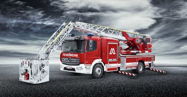 MAGIRUS Turntable Ladder Fire Truck