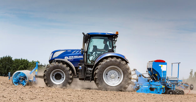 New Holland Tractor Farm Field