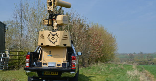 Picture Vehicular C-UAS (Back End View)