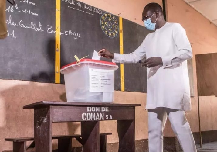 Benin 2020 Elections Ballot Box incl. Red Lid - News Item